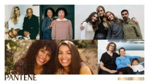 HAIR HAS NO GENDER – A new project, strengthened by Pantene, on a path that Procter & Gamble has proudly walked for decades