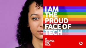 """VODAFONE FOR THE LGBT+ COMMUNITY – Vodafone is among the first companies in Italy to have adopted an """"Inclusion commitment"""" to recognise diversity"""